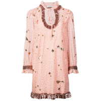 Coach Vestido Estampa 'outerspace' - Rosa