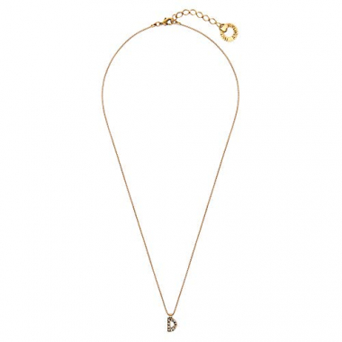 Colar Small Word D - Ouro Vintage
