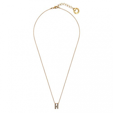 Colar Small Word H - Ouro Vintage