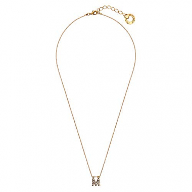 Colar Small Word M - Ouro Vintage