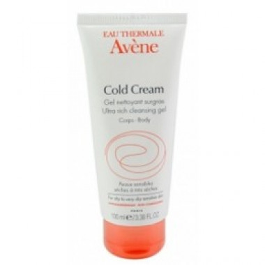 Cold Cream Gel De Limpeza Avène 100Ml