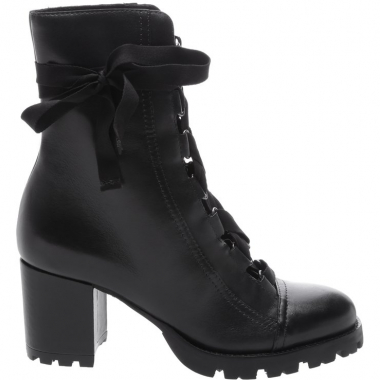 Combat Boot Lace Up Black | Schutz