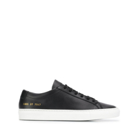Common Projects Tênis Cano Baixo Achilles - Preto