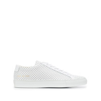 Common Projects Tênis Achilles Premium Low Perfurado - Branco