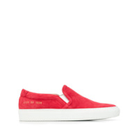 Common Projects Tênis Slip-On - Vermelho