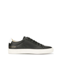 Common Projects Tênis Com Cadarço - Preto