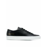 Common Projects Tênis De Couro - Preto