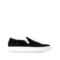 Common Projects Tênis Slip On - Preto