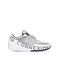 Converse Tênis Cano Baixo X Faith Connexion Run Star - Metálico