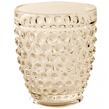 Copo Hobnail Clear