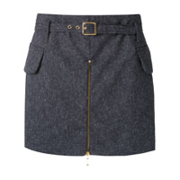 Corporeum Short Saia Tweed - Azul