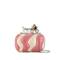 Corto Moltedo Clutch 'susan Cindy In A Rush' - Rosa
