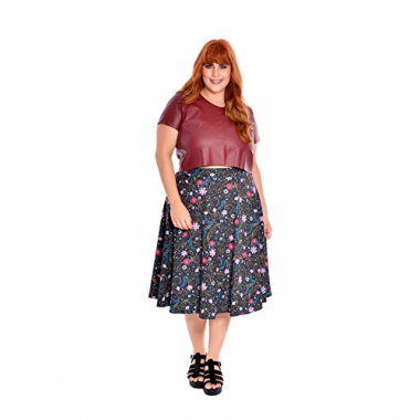 Cropped Couro Plus Size Scarlet