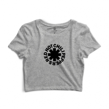 Cropped Morena Deluxe Red Hot Chili Peppers-Feminino