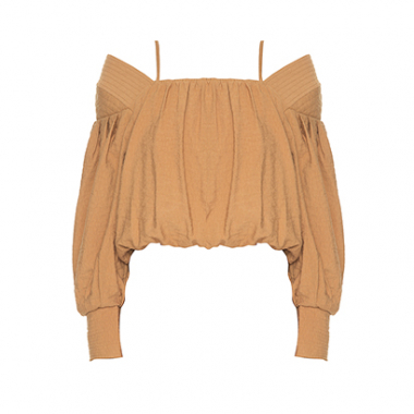 Cropped Off Shoulder Bufante Lilly Sarti
