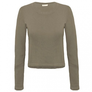 Cropped Tricot Adeline - Militar Pp