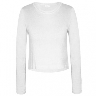 Cropped Tricot Adeline - Off White Pp