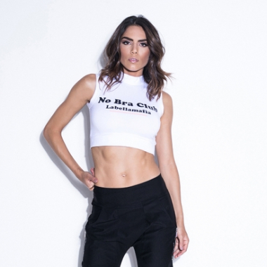 Cropped Wild No Bra Club-Feminino
