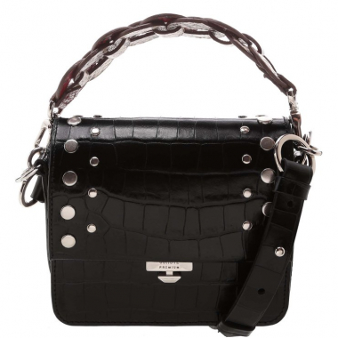 Crossbody Aylah Croco Black | Schutz