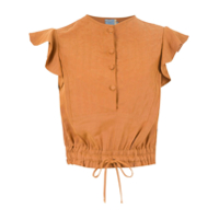 Cruise Blusa 'cabul' Babados - Leather Brown