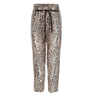 Cruise Calça 'verdite' Animal Print - Preto&branco