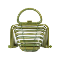 Cult Gaia Bolsa Mini 'lilleth' - Verde
