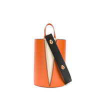 Danse Lente Small Lorna Bucket Bag - Laranja