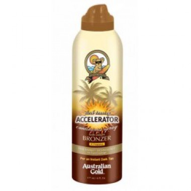 Dark Tanning Accelerator Continuous Spray With Instant Bronzer - Bron