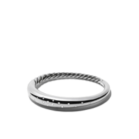 David Yurman Bracelete 'pure Form' De Prata Com Diamantes - Ssadi