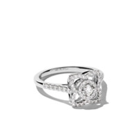 De Beers Anel Em Ouro Branco 18K - White Gold