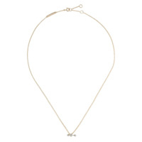 Delfina Delettrez 18Kt Yellow And White Two In One Diamond Necklace - Gold/silver