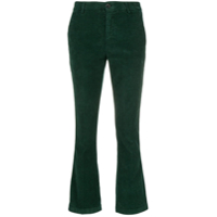 Department 5 Calça Cropped Aveludada - Verde
