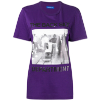 Department 5 Camiseta Com Estampa 'the Back Side' - Roxo