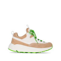Diemme Beige Monte Grappa Low-Top Leather Sneakers - Neutro