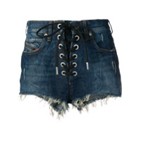 Diesel Lace-Up Shorts - Azul