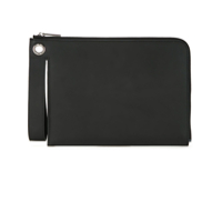 Dion Lee Clutch 'slit Loop' - Preto