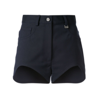 Dion Lee Short Jeans - Azul