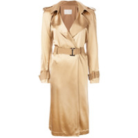 Dion Lee Trench Coat - Marrom