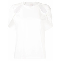 Dion Lee Twisted T-Shirt - Branco