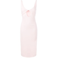 Dion Lee Vestido Caddy Tessellate - Rosa