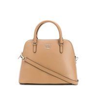 Dkny Large Whitney Dome Bag - Neutro