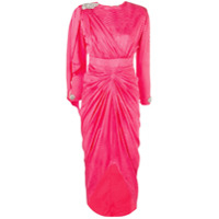 Dodo Bar Or Vestido Midi 'grace' De Seda - Rosa