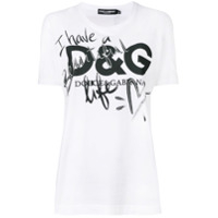 Dolce & Gabbana Camiseta 'beautiful Life' - Branco