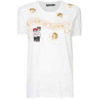 Dolce & Gabbana Camiseta 'love Is Love' - Branco