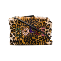 Dolce & Gabbana Clutch Com Animal Print - Marrom