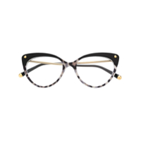 Dolce & Gabbana Eyewear Cat-Eye Shaped Glasses - Preto