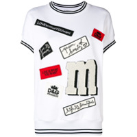 Dolce & Gabbana Moletom 'love Is What You Want' - Branco