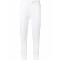 Dondup Crochet Cuff Cropped Trousers - Branco