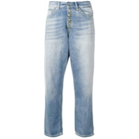 Dondup Cropped Jeans - Azul