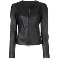Drome Fitted Zip Jacket - Preto